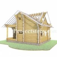 Разбревновка, разбрусовка проекта деревянного дома