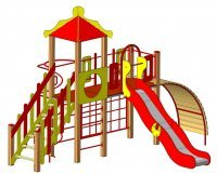 Детские игровые комплексы от производителя
