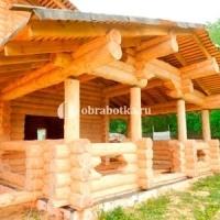 Декоративная обработка дерева (срубов, деревянных конструкций)