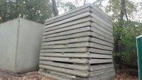 Забор бетонный б/у по-2.3м п6-в панели ограждения