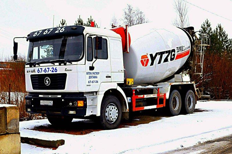 Доставка бетона и раствора по Смоленску и Смоленской области