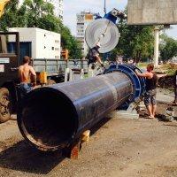 Сварка полиэтиленовых трубопроводов ПЭ100 до 1200 мм