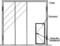 Ворота складчатые ВРС 42-42-УХЛ1, серия 1.435.2-28