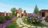 Ландшафтный дизайн, озеленение