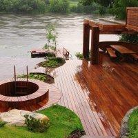 Изготовление и монтаж малых архитектурных форм (МАФ) из дерева и металла.