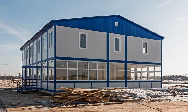 Производство и установка модульных зданий различного назначения.