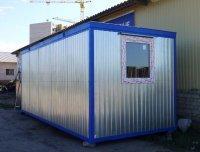Блок-контейнер (БК-02). с тамбуром 6000х2400х2400 в Курске