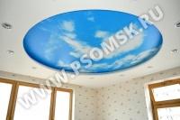 Фотопечать на потолке скидка до 25%