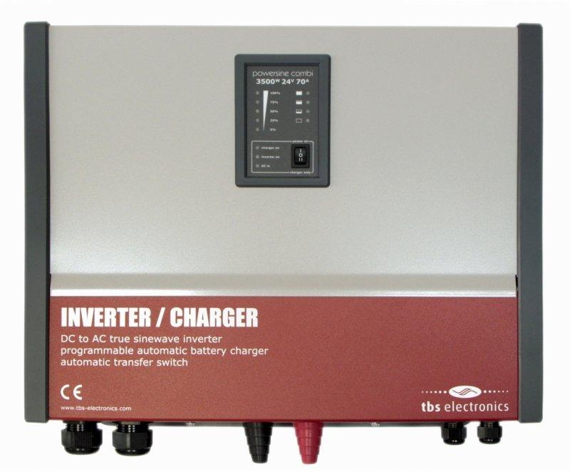 Инвертор со встроенным зарядным устройством TBS Powersine Combi 2000-12-80