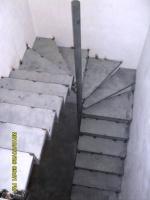 Лестница винтовая, забежная, проект, изготовление, монтаж