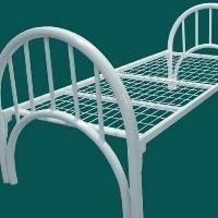 Кровать металлическая 1яр.(КМ-1.5) 1950х800 спинка 51,18 мм