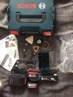 Аккумуляторный инструмент Bosch