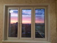Остекление балконов, лоджий. Окна REHAU.