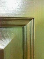 Межкомнатная дверь натуральный массив сосны с остеклением 11