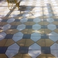 Тротуарная плитка, бордюры