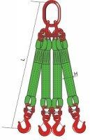 4СТ (Строп текстильный четырехветвевой).