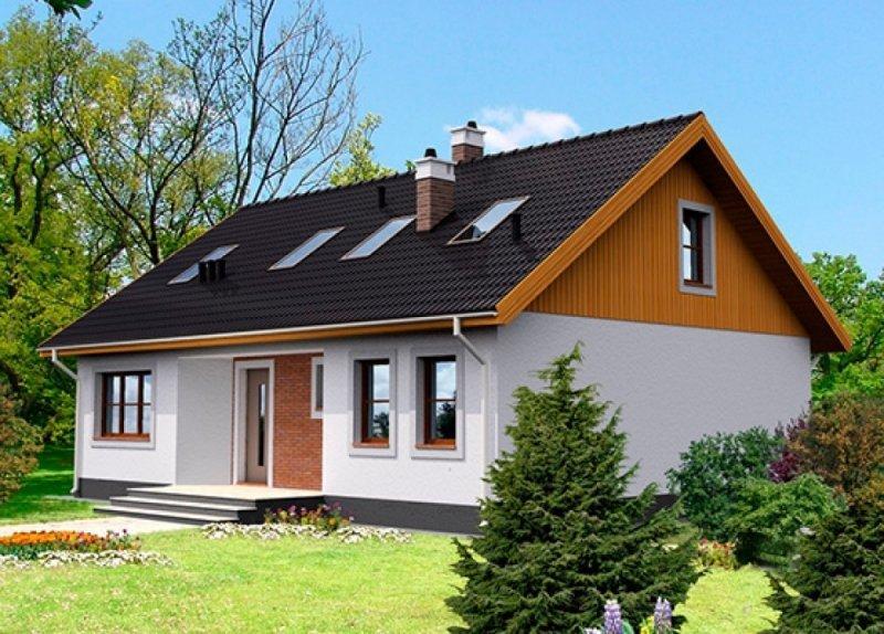 """Одноэтажный жилой дом """"Односельчанин"""" 110м2"""