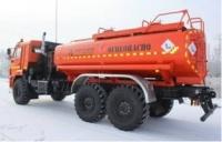 Топливозаправщик АТЗ 10 на шасси КАМАЗ 43118