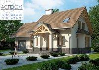 Проект дома LK&1039