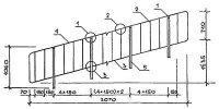 ПЕРИЛА марки ОМ 17-1 - лестничные ограждения железобетонных лестниц по типовой серии 1.050.9-4.93.3