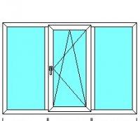 Окно 2040*1400 (32 мм)