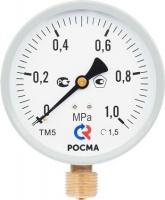 Манометр технический 6, 10, 16 кг/см ЗАО Росма в Чебоксарах