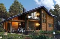 Дом в Лесном озере