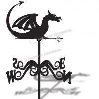 Флюгер большой 025 «Дракон»