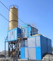Установка бетонорастворосмесительная УБРС-10