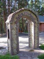 натуральный камень для  малых архитектурных форм