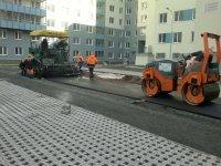 Асфальтирование в Новосибирске - асфальтной крошки
