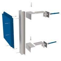 Подсистемы вентилируемых фасадов для металлокассет (АЛЬФА-Металлокассеты)