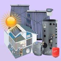 Солнечный коллектор для отопления и ГВС