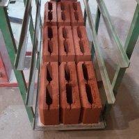 блоки керамзитобетонные с фаской цветные