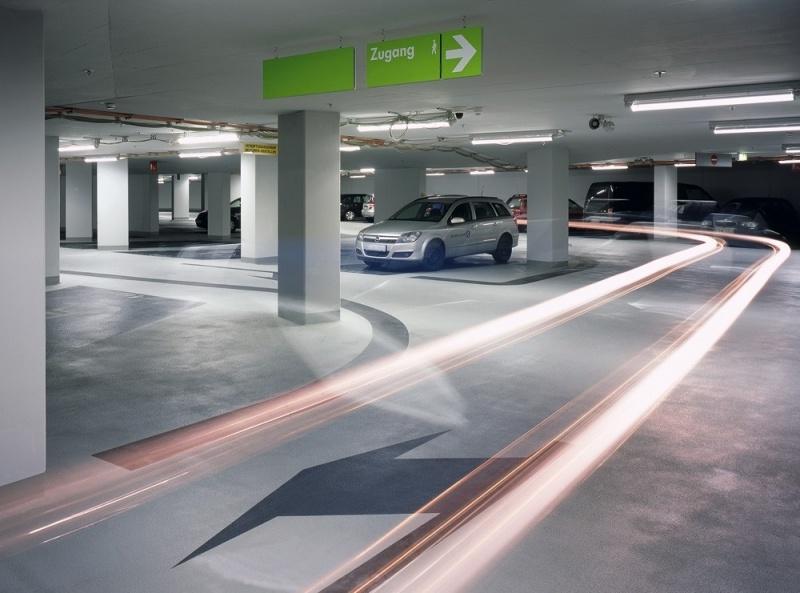 Промышленные полы для авто-паркингов, автосалонов, авто-мастерских