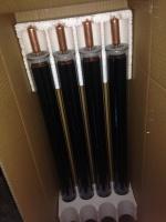Тепловая вакуумная трубка HEAT PIPE с медным нагревательным элементом для солнечных водонагревателей
