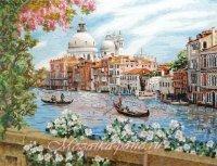 """Панно из колотой мозаики """"Венеция"""""""