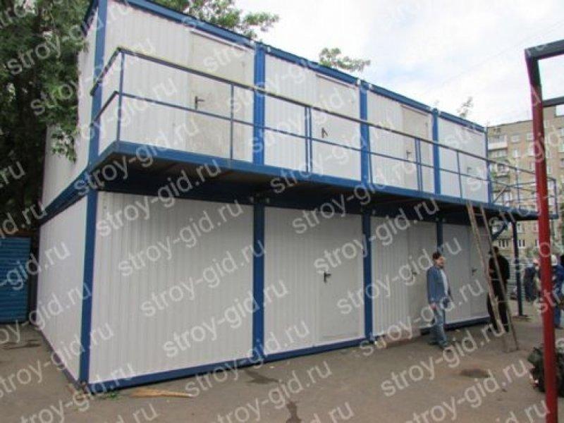 Модульное сборно-разборное здание