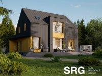 Стильный дом по проекту NordicBlack по супер-цене 3,8 млн. руб!