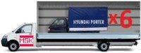 Газель с кузовом 50 м³ для перевозки лёгких грузов