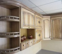Кухни на заказ из массива дерева