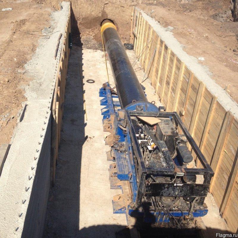 Строительство тоннелей, путепроводов, подземных переходов, опускных колодцев