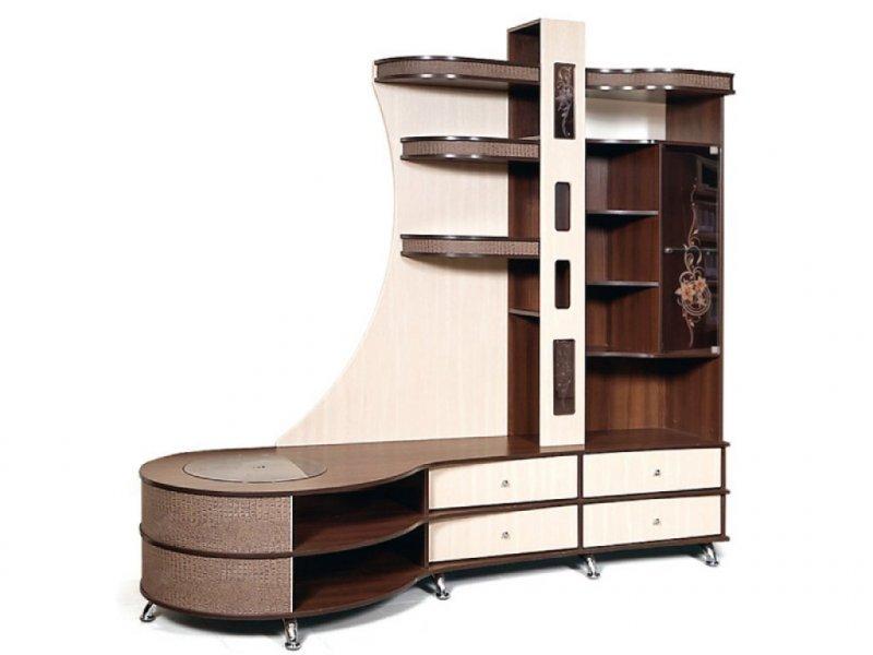 Шкаф комбинированный С тумбой Л Орфей-12 КМК 0365.2 (левый)