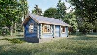 Домокомплект дома из оцилиндрованного бревна