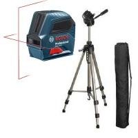 Прокат, аренда лазерного уровня Bocsh 2-10 + штатив-трипод HAMA Star63 4163 в Чебоксарах