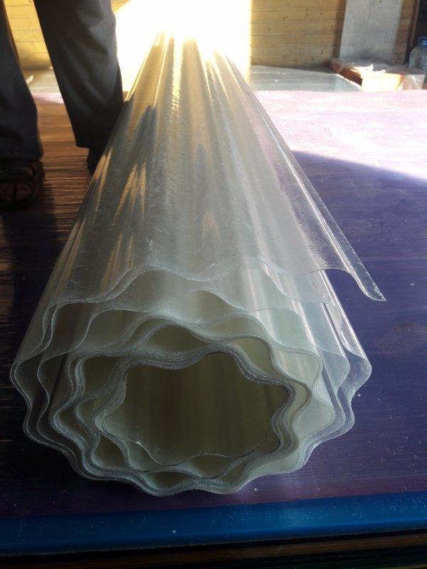 прозрачный шифер в рулонах