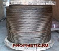 Трос для крана, кран-балки ГОСТ 2688-80 ф 4,1-56,0 мм. от 100 п.м.