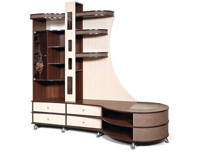 Шкаф комбинированный С тумбой П Орфей-12 КМК 0365.1 (правый)