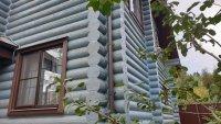 Покраска срубов деревянных домов и бань