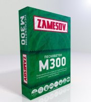 Сухая смесь М300 Пескобетон ZAMESOV